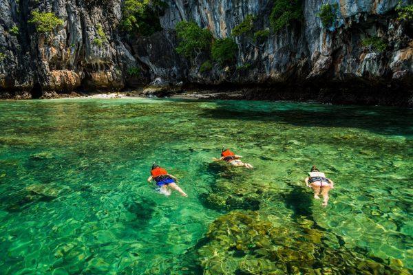 Отдых в водах Сиамского залива