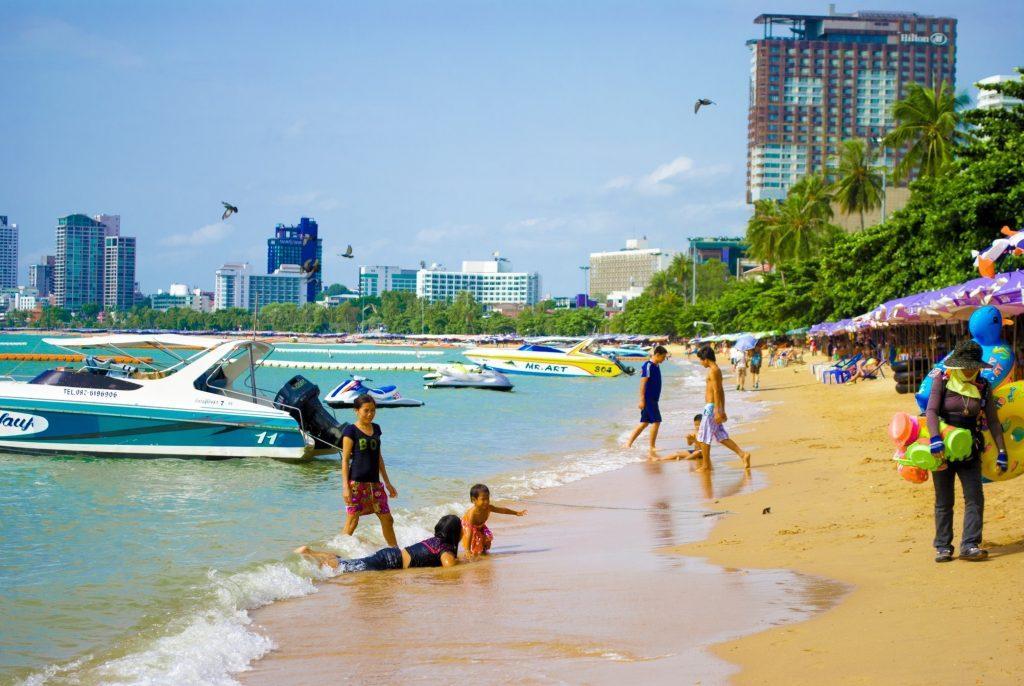 Центральный пляж (Pattaya Beach)
