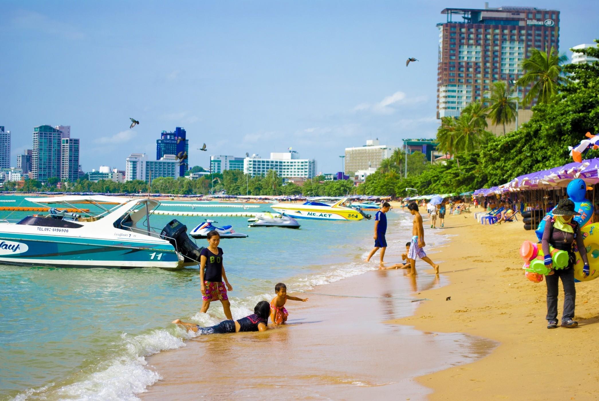 Все пляжи Паттайи: видео с описанием и картой