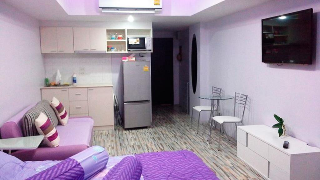 Однокомнатная квартира в Jomtien Beach Condominium в Паттайи
