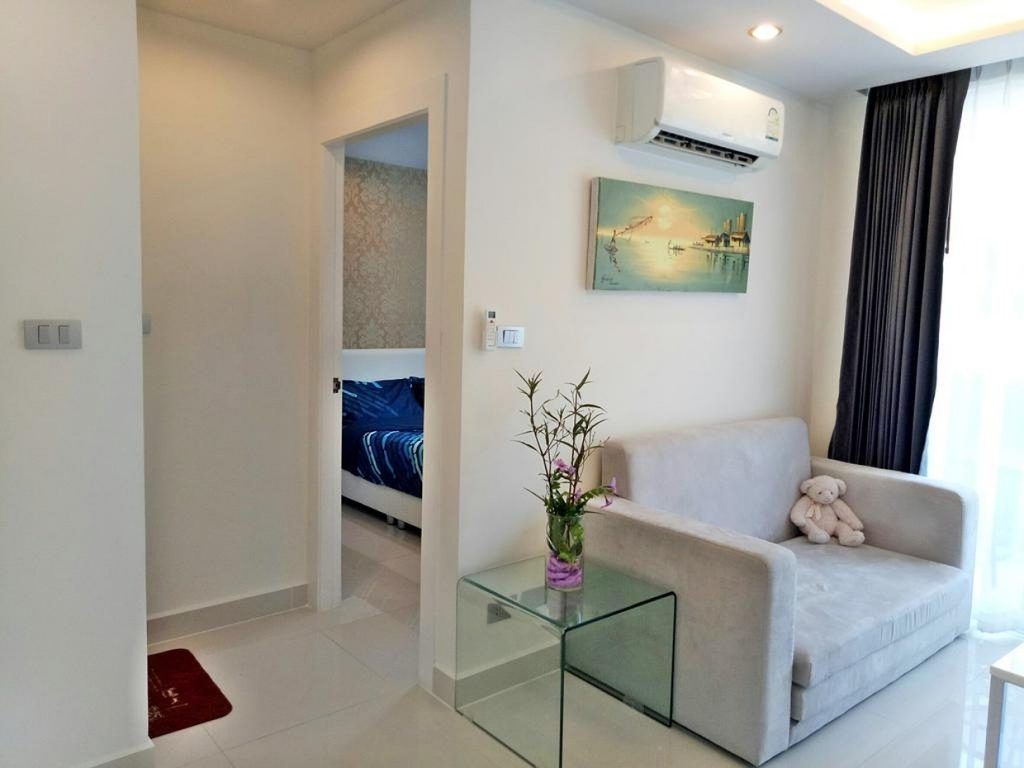 Двухкомнатная квартира в кондо Amazon residency в Паттайи