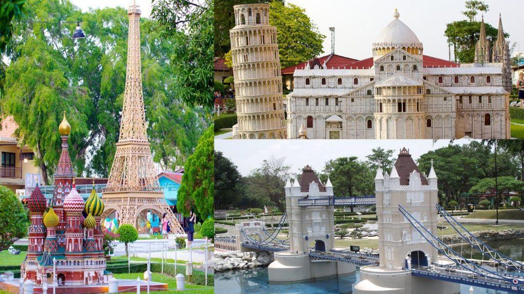 Сад необычных миниатюр Мини Сиам в Паттайи