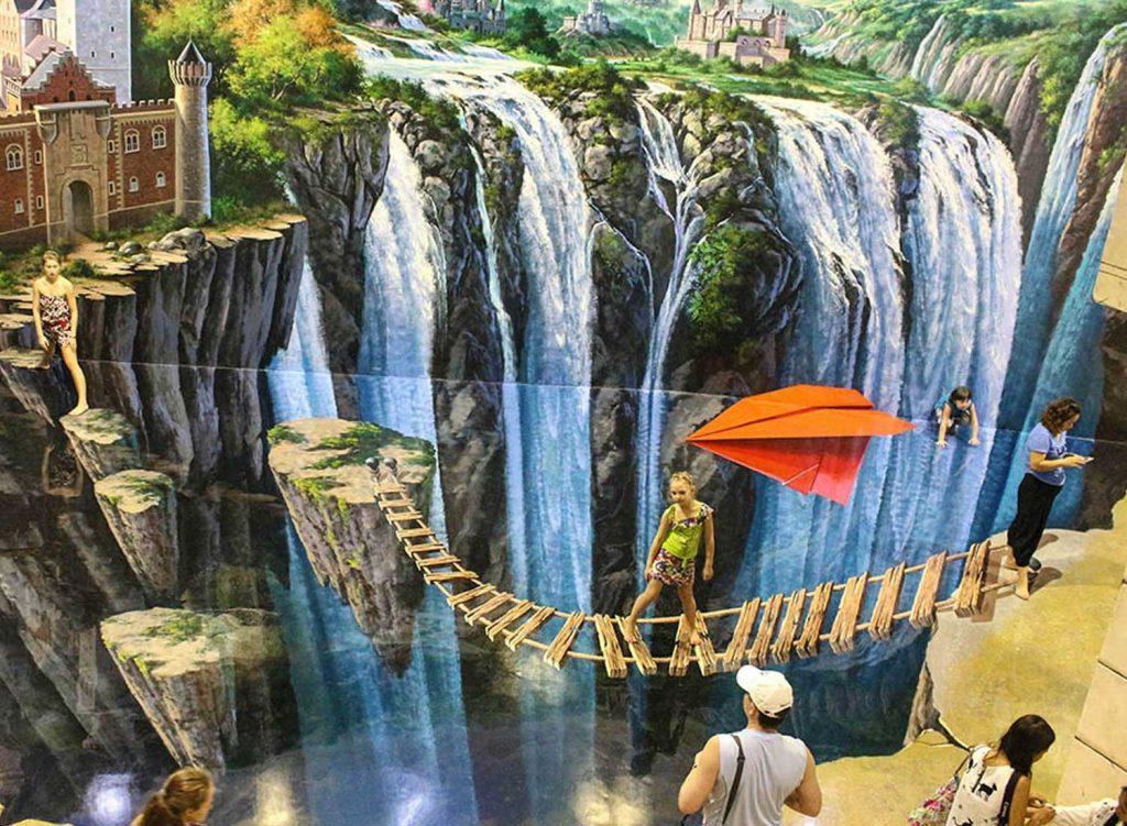 Ожившие картины поразят любого в Art paradise в Паттайи
