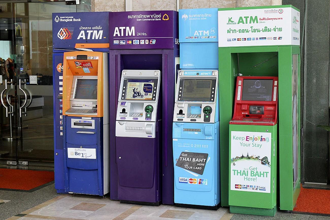 Банки Таиланда. Как снять деньги в банкомате и отделении банка