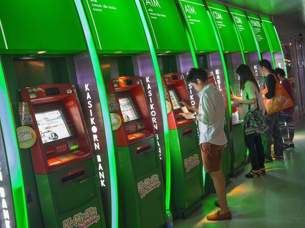 Банкоматы Таиланда выдают только национальную валюту - баты