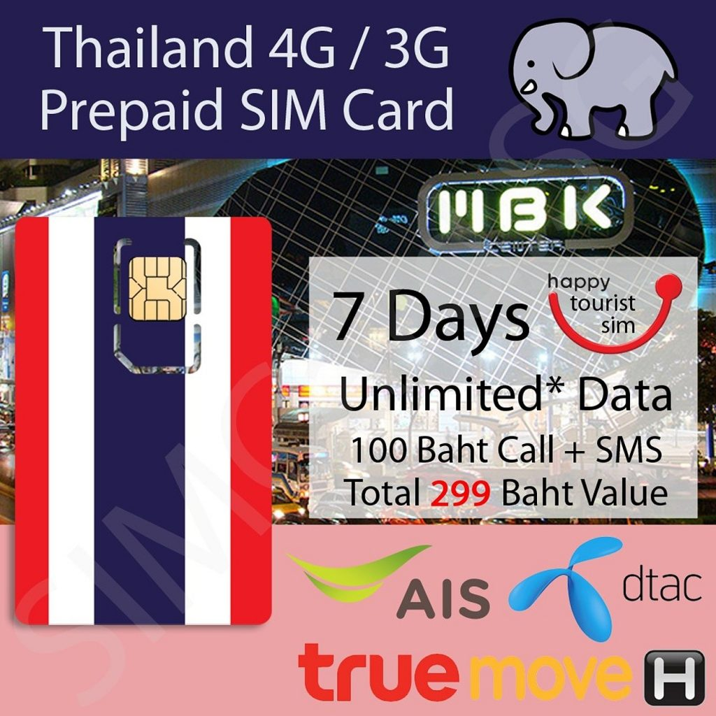 Все пакеты удобны в использовании и доступны каждому туристу в Таиланде