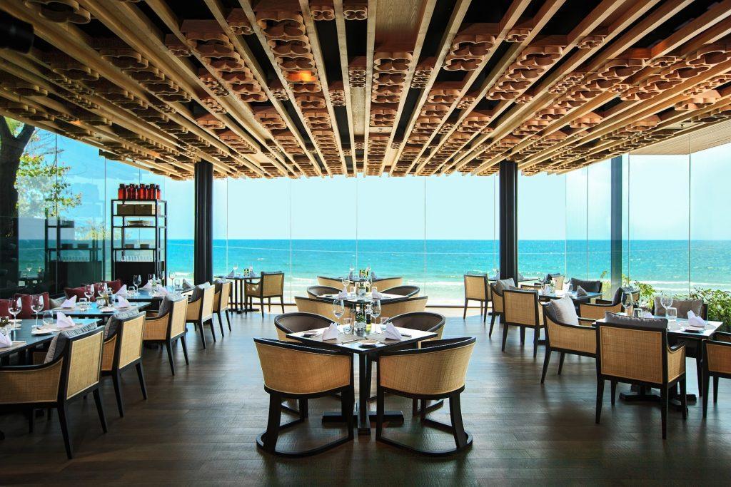 Ресторан отеля Марриотт на Хуа Хине