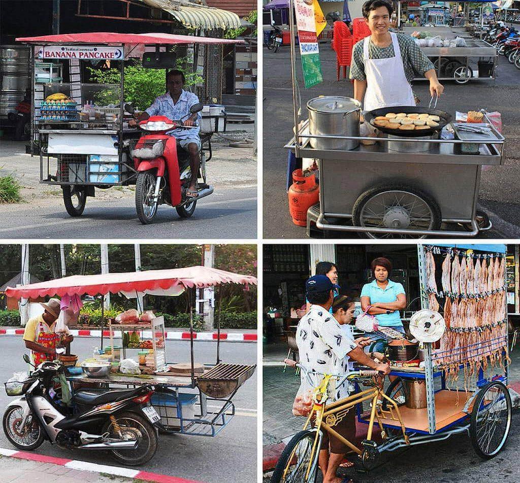 Разнообразие макашниц в таиланде