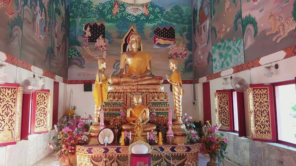 Храм Wat Chai Mongkron в Паттайе заинтересует многих ценителей буддизма