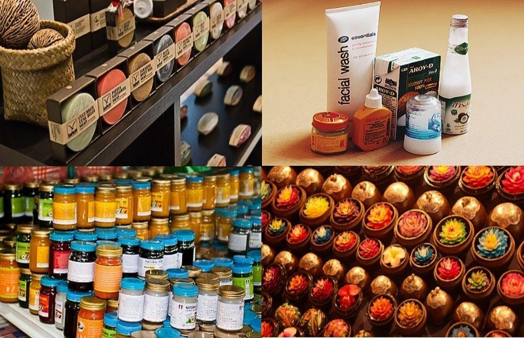 Разнообразие тайских сувениров поразит всех туристов