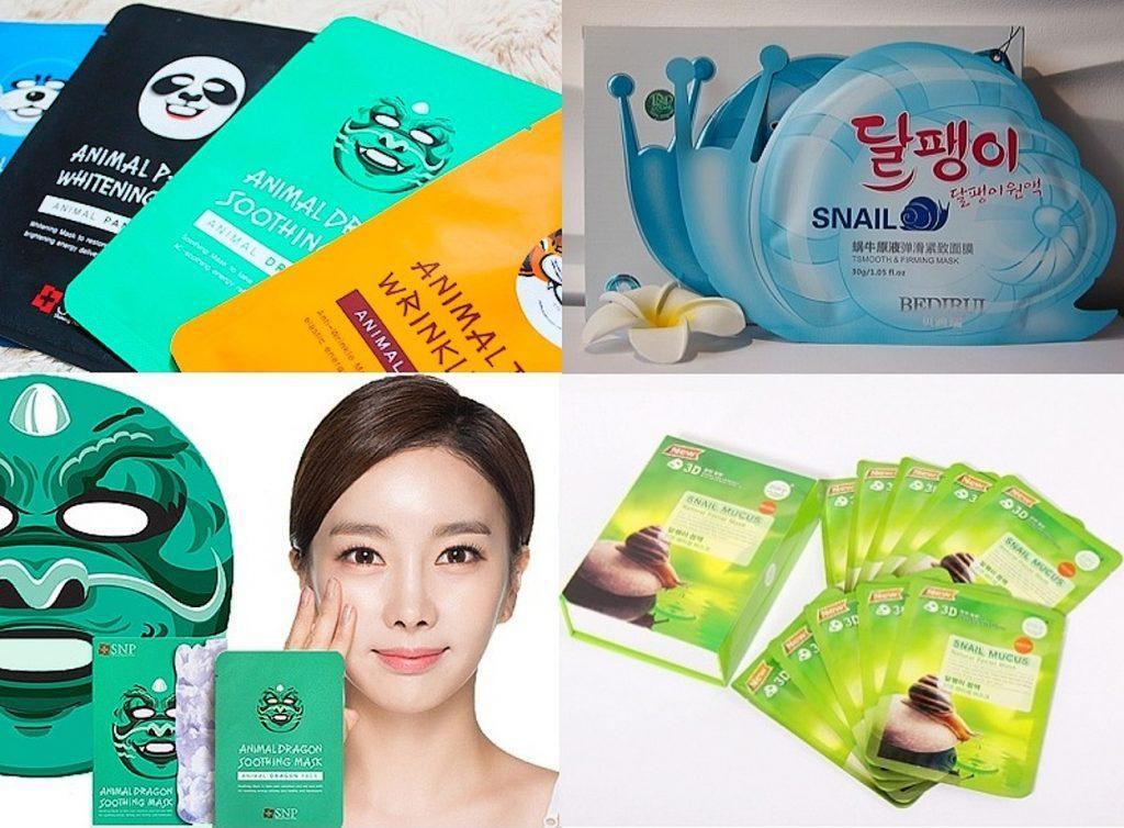 Тканевые маски на любой вкус и цвет