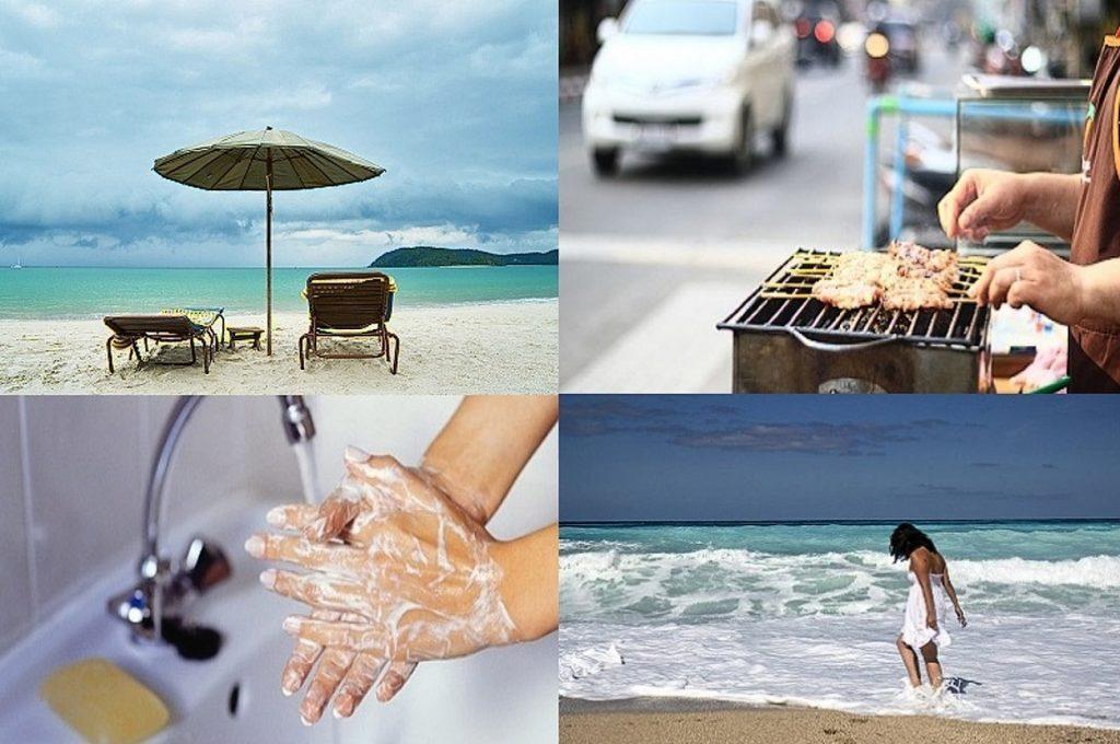 Гигиена рук залок крепкого здоровья в Таиланде