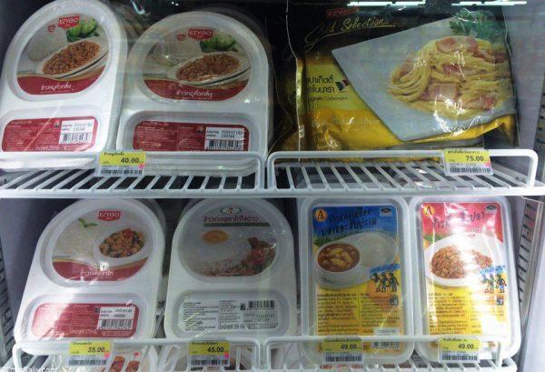 еда в севен и левен Таиланд