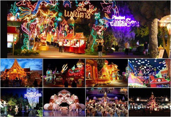 Яркое Phuket Fantasea show