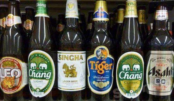 пиво в Таиланде