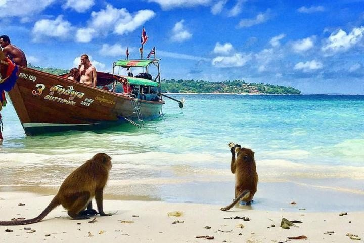 Пляжи Пхи-Пхи: описание основных пляжей(с видео и фото) и карта