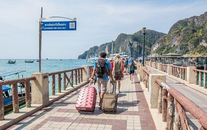 Как добраться из Краби на Пхи-Пхи: автобус, такси и паром