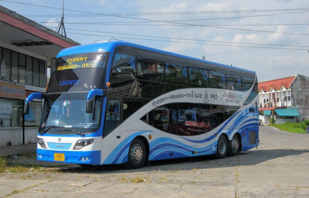 Автобус из Бангкока в Краби