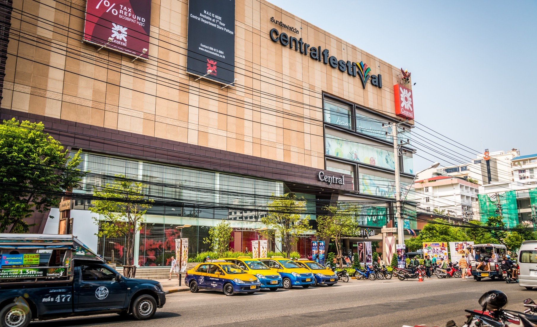 Централ фестиваль – торговый центр в Паттайе