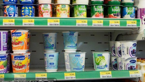 йогурт в Таиланде